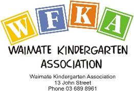 Waimate Kindergarten Association Logo